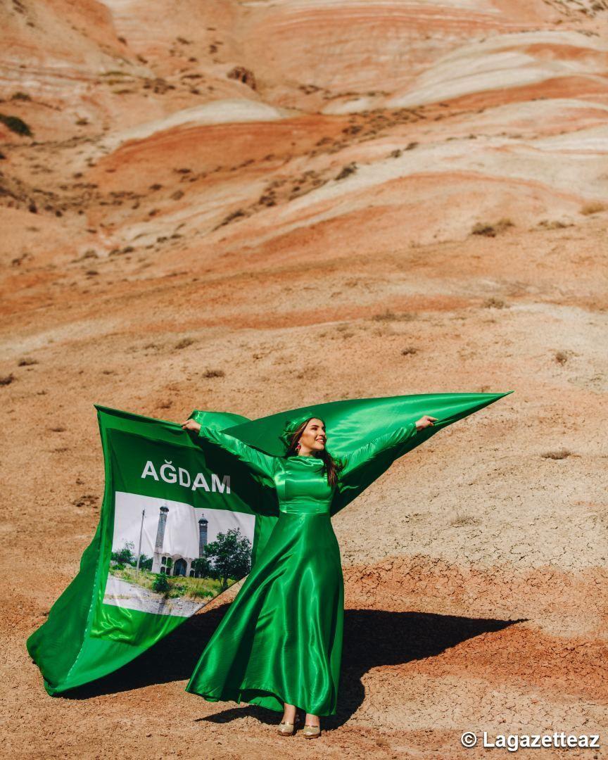 Un projet avec des costumes nationaux, intitulé « Le Karabagh, c'est l'Azerbaïdjan » (PHOTO/VIDEO) - Gallery Image