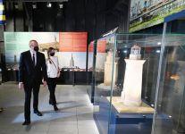 Le président Ilham Aliyev et la première dame Mehriban Aliyeva sont présents à la cérémonie - Gallery Thumbnail