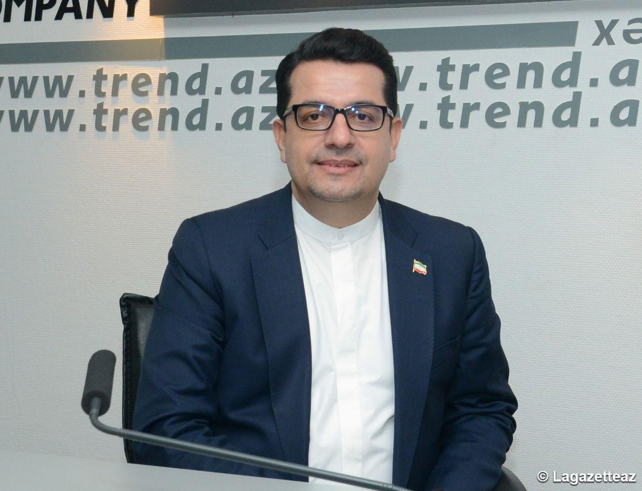 L´Iran et la France entretiennent des relations économiques et commerciales depuis de nombreuses années, dit l'Ambassadeur Seyed Abbas Moussavi