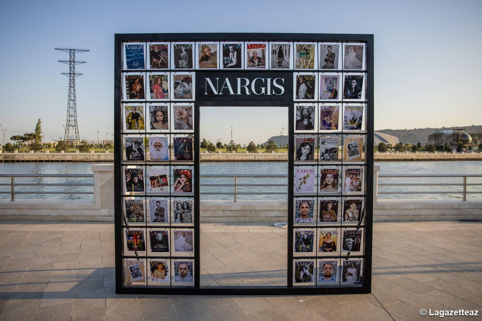 La maison d'édition NARGIS inaugure l'exposition « Reduce , Reuse , Recycle , Respect » sur le Boulevard de Bakou - Gallery Image