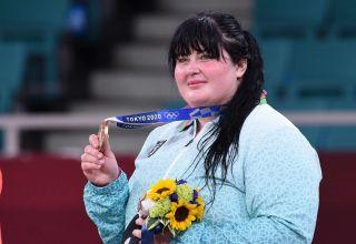 Le meilleur cadeau d'anniversaire pour une judoka azerbaïdjanaise aux Jeux Olympiques de Tokyo